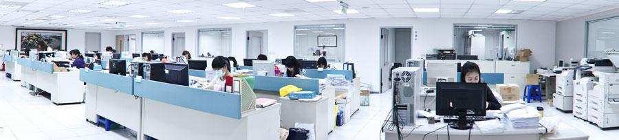 祥業聯合寬敞的辦公室